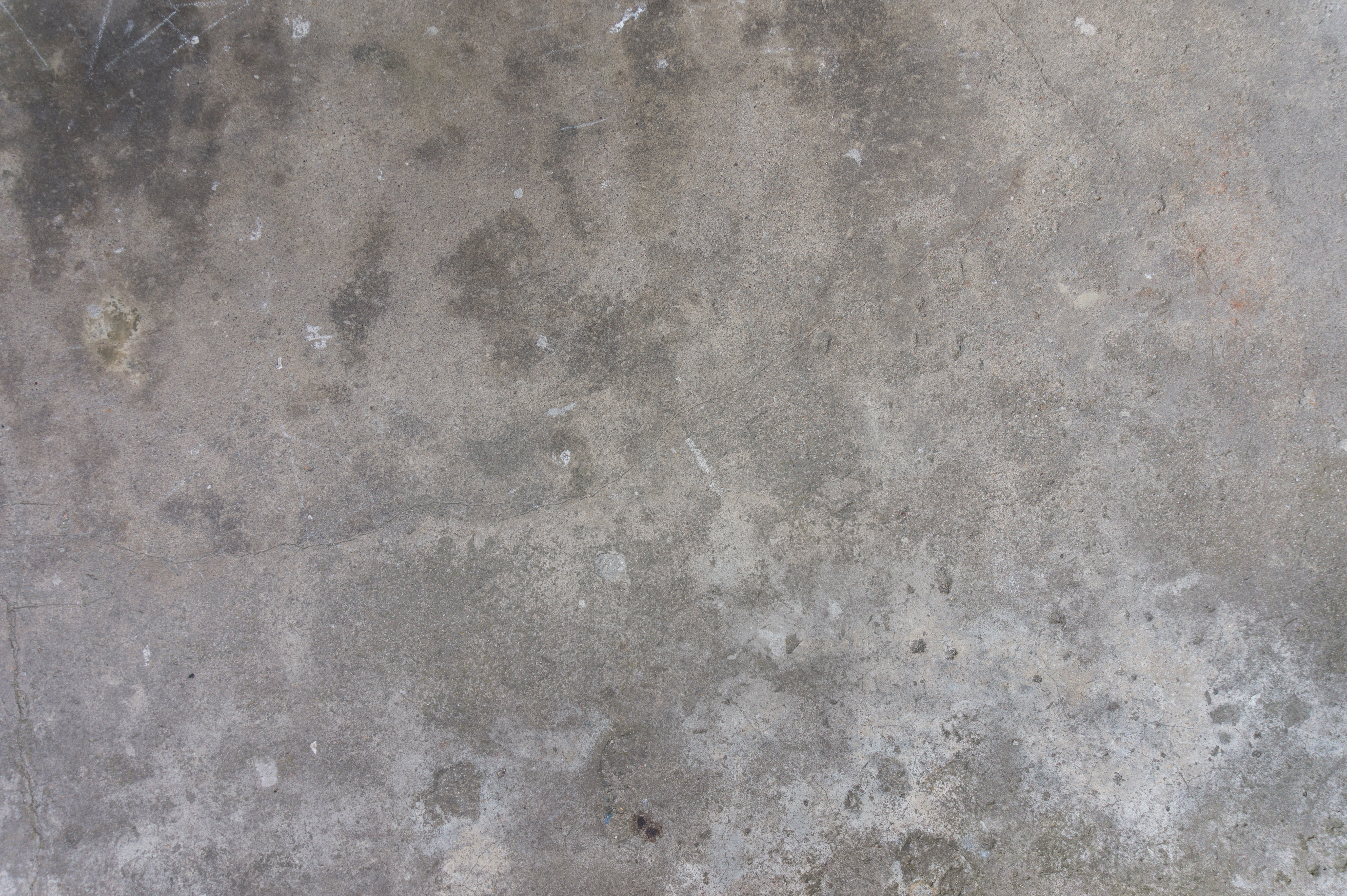 Dirty Concrete Wall Covered With Stains
