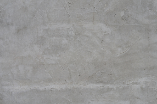 Wall Covered Irregularly With Plaster Concrete