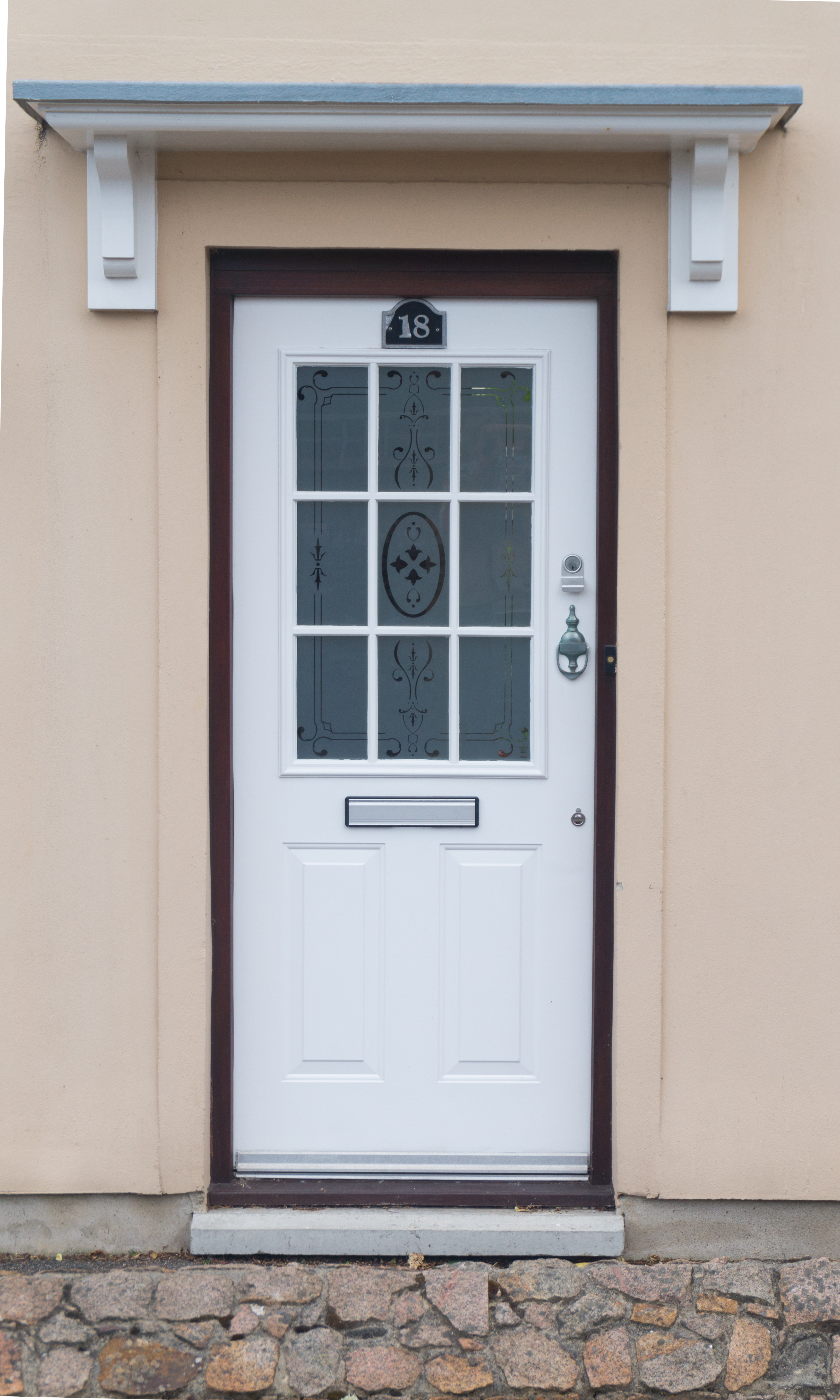 Plastic White Door With Glass Doors Texturify Free